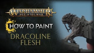 How to Paint: Celestial Dracoline Flesh