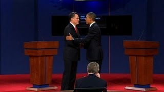 Obama and Romney's first presidential debate