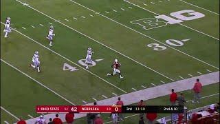 JD Spielman's 77-Yard Touchdown vs. Ohio State