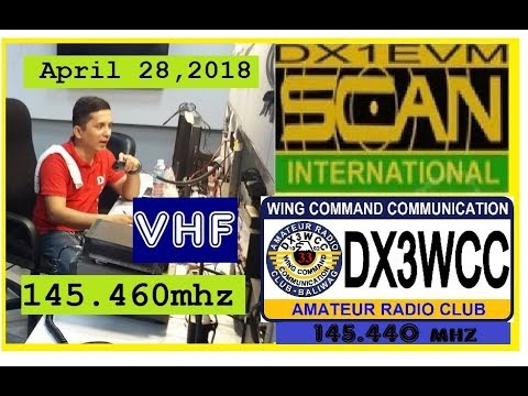 Ham Radio VHF Net Call Philippines - DX1EVM/DX3WCC