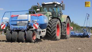 Aussaat Ernte 2020 - Fendt 939 & LEMKEN Drillmaschine Solitair 23 German agriculture Landwirtschaft