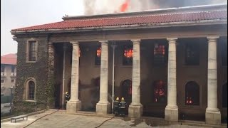 Table Mountain fire under control, historical buildings badly hit