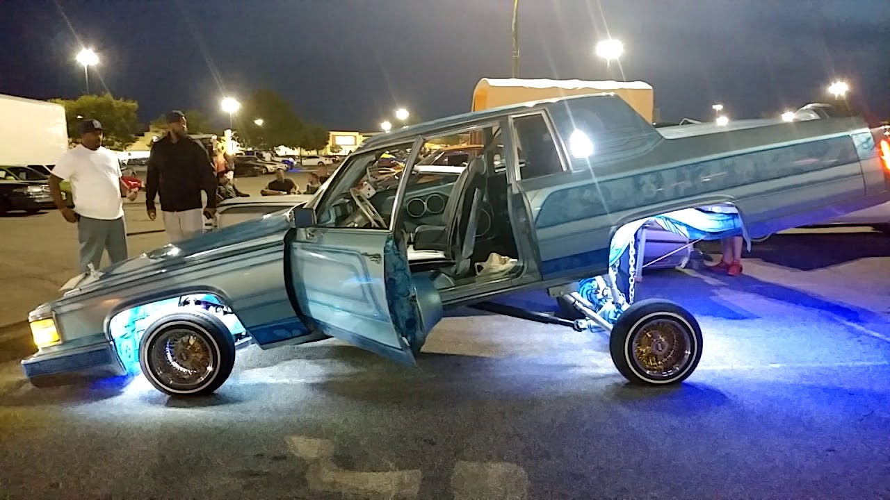 1984 CADILLAC COUPE DEVILLE HIGHRIDER WITH RAINBOW METAL FLAKE ...