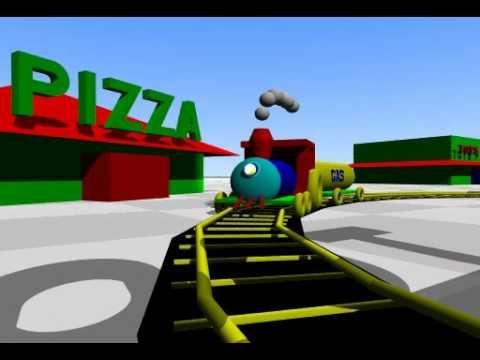 Animated Short Train Car Accident