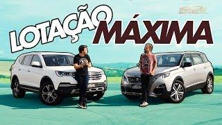 Desafio De 7 Lugares! Lifan X80 E Peugeot 5008 Duelam Na Pista Com Aceletime A Bordo - Especial #204