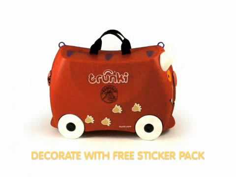 Trunki Ride On Suitcase-Gruffalo (Kiddies-Kingdom.Com)