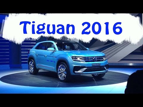 novo volkswagen tiguan 2015 / 2016 (cross coupÉ concept) - youtube