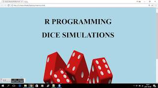R PROGRAMMING - DICE SIMULATIONS