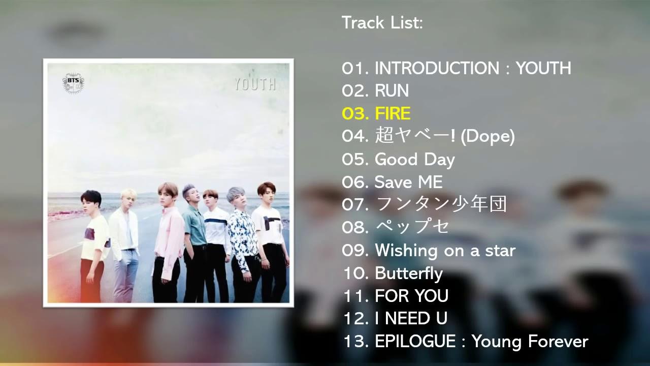 Full Album BTS 防弾少年団   YOUTH