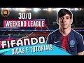 FORMAÇÃO E TÁTICAS IMBATÍVEIS NO FIFA 19 - DICAS E TUTORIAIS COM RAFIFA