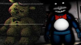 SHADOW TOY BONNIE JUMPSCARE Night Shift At Freddy S Remastered 1