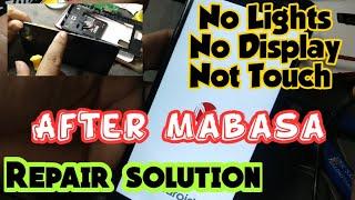 Paano ayusin ang no light no display not touch after mabasa ang cellphone  | water damage solution