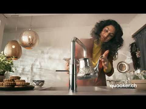 Quooker TV commercial winter 2021. Der Wasserhahn, der alles kann.