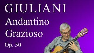 Andantino Grazioso, Op. 50 (M. Giuliani)