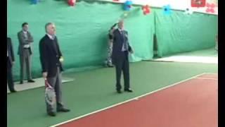 Открытие новых теннисных кортов.(8 июня в спортивном комплексе «Радужный» состоялось торжественное открытие новых теннисных кортов. На..., 2009-08-01T13:17:34.000Z)