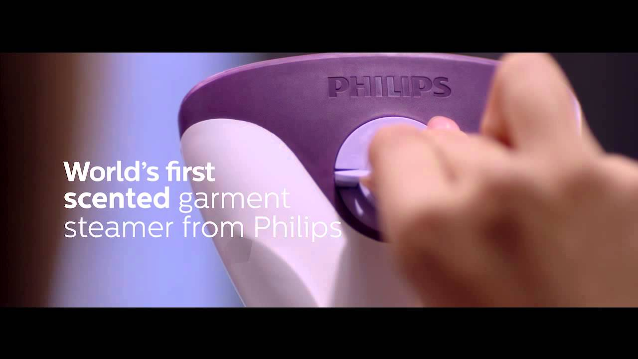 Worlds First Scented Garment Steamer From Philips Youtube Gc504