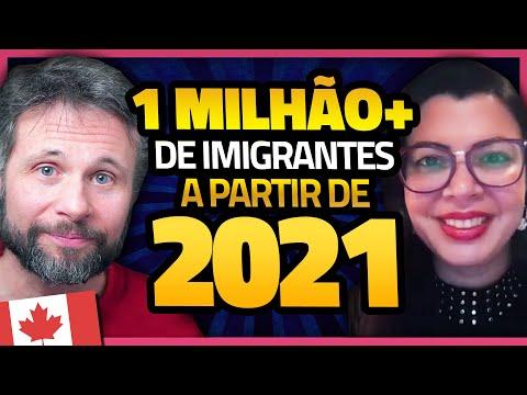 PLANO DE IMIGRAÇÃO PARA O CANADÁ DE 2021 A 2023: MAIS DE 1 MILHÃO DE NOVOS IMIGRANTES!