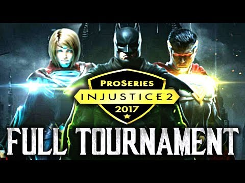 Injustice 2: Combo Breaker 2017 - Full Tournament! [TOP8 + Finals] (ft. SonicFox, KDZ, Dragon etc)