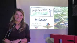 Renewable Energy as Economic Restitution to Legacy Cities | Sabrina Haake | TEDxGary