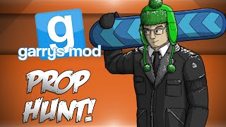 GMod Prop Hunt! - FLYING CABINETS & CORPSE LAUNCH CONTEST! (Garrys Mod Funny Moments)