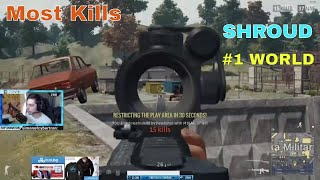 King Of Pubg...Shroud Best PUBG Player of all time