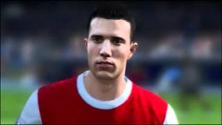 FIFA 11 Arsenal Faces