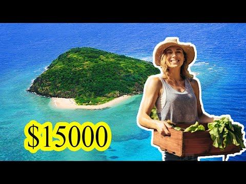 A girl bought an abandoned island in the ocean for $15000 and made something incredible on it