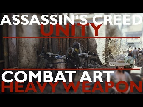 Assassin's Creed Unity combat art - Heavy weapon