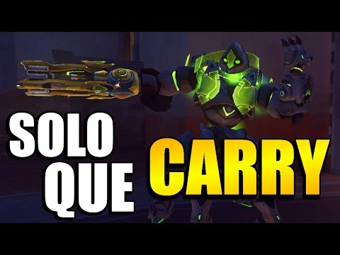 Overwatch | Orisa The Best Solo Queue Carry Hero?? - Overwatch Competitive Season 4 Solo Que Tips