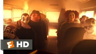 Trick 'r Treat (2007) - School Bus Massacre Scene (5/9) | Movieclips