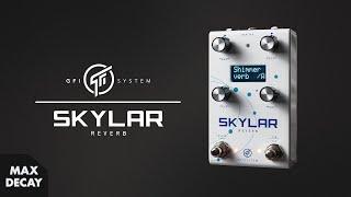 GFI System Skylar Reverb Pedal Demo - Stereo