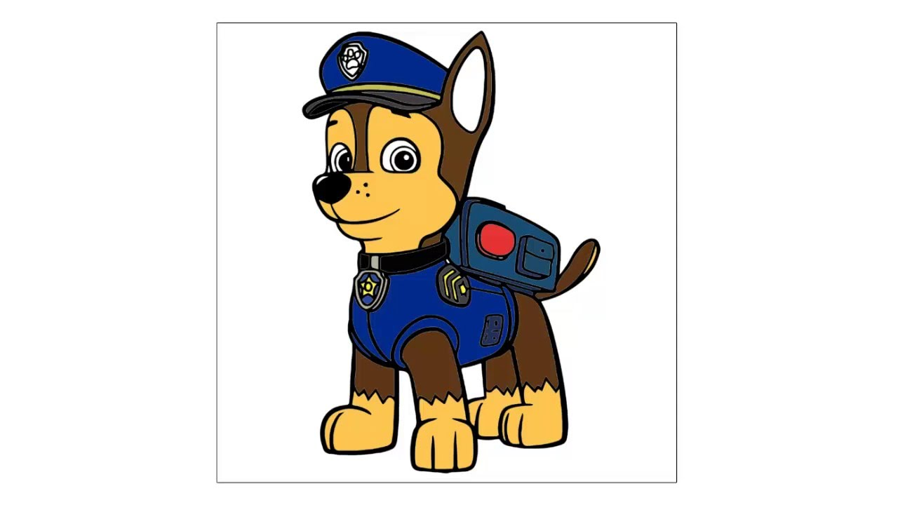 Como Dibujar Y Pintar A Rocky Patrulla Canina By Dibuja Y Pinta Animados
