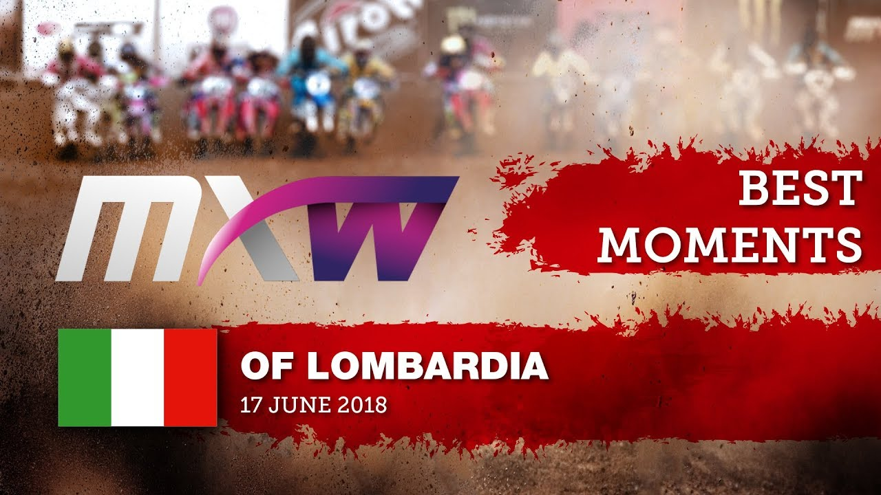 WMX Race 2 Best Moments   Lombardia 2018 #motocross