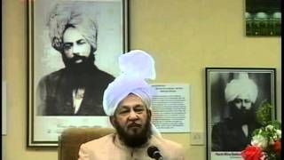 Question and Answer Session (27 May 1989 Part 2) with Hadhrat Mirza Tahir Ahmad, Islam Ahmadiyya