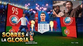 cristiano ronaldo del mundial in a pack fifa world cup