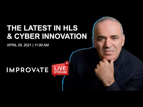 "Garry Kasparov, Leading cyber expert and former world chess champion at IMPROVATE Homeland Security and Cyber: ""The bad guys are using AI, and we have to be one step ahead"""