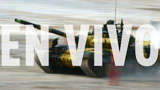 La batalla final del biatlón de tanques cierra las espectaculares 'olimpiadas' militares