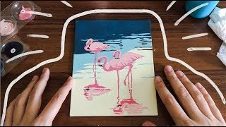 ♡процесс рисования ∣∣ картина по номерам♡