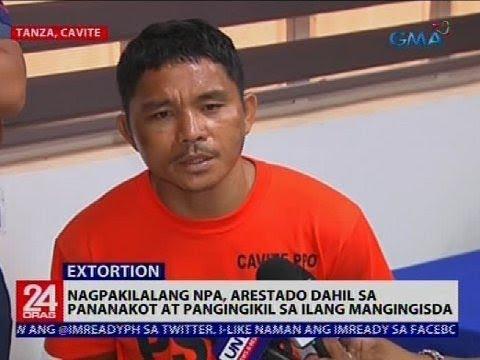 24 Oras: Nagpakilalang NPA, arestado dahil sa pananakot at pangingikil sa ilang mangingisda