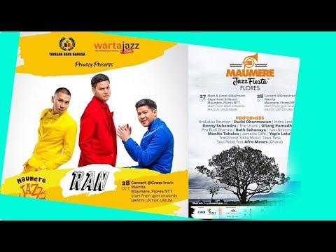 RAN - Karena Ku Suka Dirimu Live Perfom @ Maumere Jazz Fieata Flores 2018