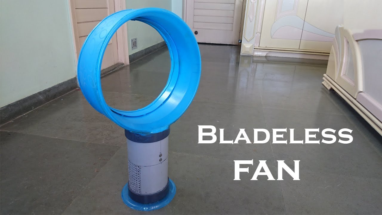 How to Make a Bladeless Fan using Plastic bucket at Home - YouTube