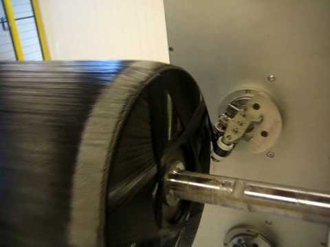 Filament Winding by using a Kuka 8 axes robot from MF Tech