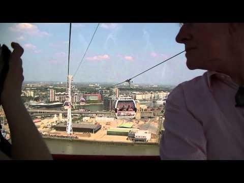 Emirates Cablecar & Thames Barrier