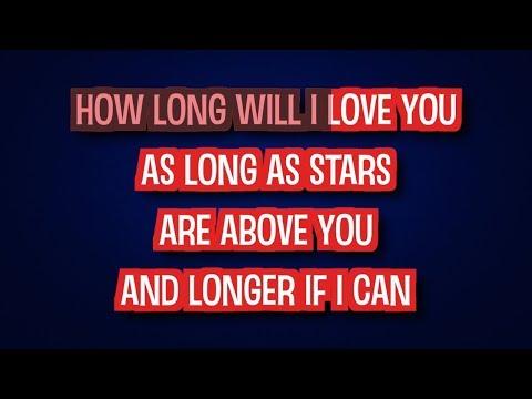How Long Will I Love You - Ellie Goulding | Karaoke LYRICS