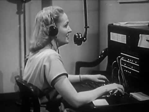 Telephone Courtesy - circa 1940's - CharlieDeanArchives / Archival Footage