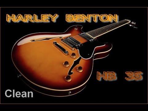 Harley Benton HB 35 Test 2 Clean