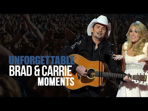 8 Unforgettable Brad Paisley, Carrie Underwood CMA Moments