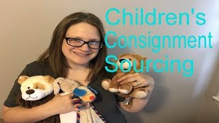 Children's Consignment Haul to Resell For Profit