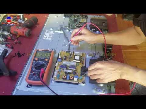 Đo 2 Bước Biết Ngay Tivi Smart LG Mở Hình ảnh, Tối ảnh Hỏng Gì? Các Bạn Xem Nhé