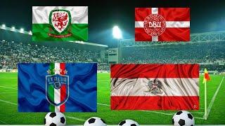 Прогноз на футбол сегодня Уэльс Дания и Италия Австрия 26 06 2021